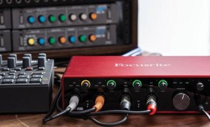 Interface audio (carte son)
