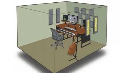 Accessoire traitement acoustique