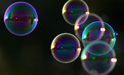 Pour machine à bulles