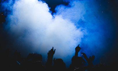 Pour machine à brouillard