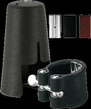 Vandoren LC24P Ligature en cuir pour Clarinette Basse