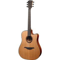 Lâg T200DCE Dreadnought Cutaway electro - Vue 2