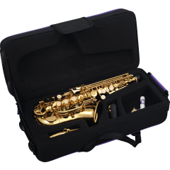 Sml Paris Saxophone soprano courbe débutant verni - Vue 2