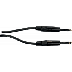 Yellow Cable Cordon jack jack diam. 6 - 1m - Vue 2
