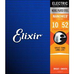 Elixir Nanoweb Light Heavy 10-52 - Vue 2