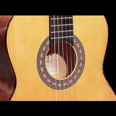 Santos Y Mayor Guitare classique 4/4 brune - GSM 9B - Vue 2