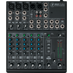 Mackie 802-VLZ4 Mixeur ultra-compact 8 canaux - Vue 2