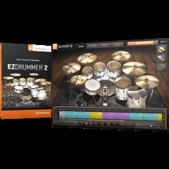 Toontrack EZdrummer 2 - boite logiciel - Vue 2
