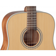 Takamine GD20-NS natural satin - Vue 2