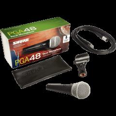 Shure PGA48-XLR - Vue 2
