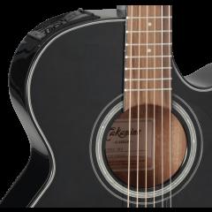 Takamine GF30CE-BLK black - Vue 2