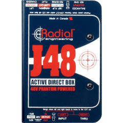 Radial DI active J48 - Vue 2