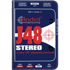Radial DI active stéréo J48 Stereo - Vue 2