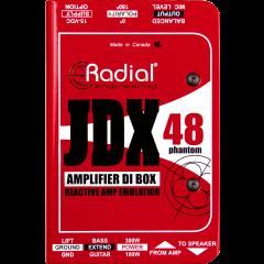Radial DI active simulateur de HP JDX48 - Vue 2