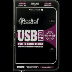 Radial DI numérique USB-PRO - Vue 2