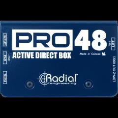 Radial DI active PRO48 - Vue 2