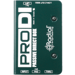 Radial DI passive PRO-DI - Vue 2