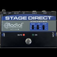 Radial DI pédale instrument Stage Direct - Vue 2