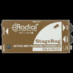 Radial DI pour micro piézo SB-4 Piezo - Vue 2