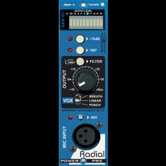 Radial Préampli microphone format 500 Power-Pre - Vue 2