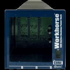 Radial Boîtier format 500 3 emplacements Cube - Vue 2