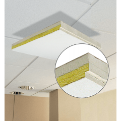 Primacoustic 8 dalles plafond 603 x 603 x 27 mm - Vue 2