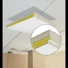 Primacoustic 4 dalles plafond 603 x 1213 x 27 mm - Vue 2