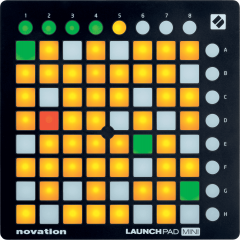 Novation LaunchPad mini mk2 - Vue 2