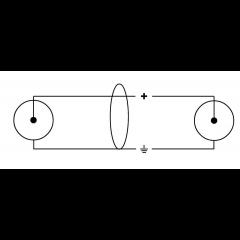 Cordial Câble audio double Rca 3 m - Vue 2