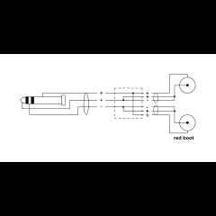 Cordial Câble Y bretelle minijack stéréo/2 Rca 1,5 m - Vue 2