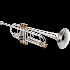 Xo Trompette Sib professionnelle plaquée argent Xo1602RSR4 - Vue 2