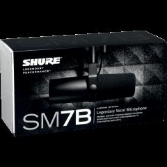 Shure SM7B - Vue 2