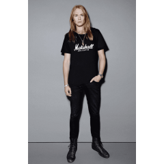 Algam Webstore T-shirt Marshall Amplification noir homme (XXL) - Vue 2