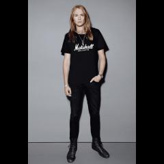 Marshall T-shirt Marshall Amplification noir femme (S) - Vue 2