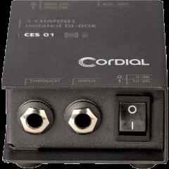 Cordial Boîte de direct passive 1 canal - Vue 2