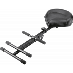 K&M 14045 Tabouret ergonomique haut simili cuir - Vue 2