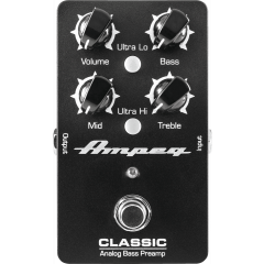 Ampeg Classic Analog Bass Preamp - Vue 2