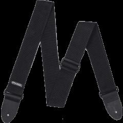 Dunlop Sangle Poly Black - Vue 2