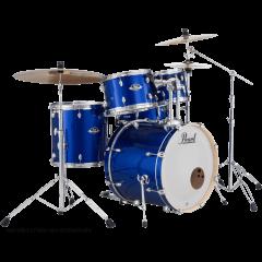 "Pearl Export rock 22"" High Voltage Blue - Vue 2"