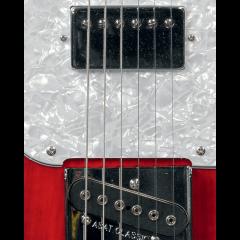 G&L Tribute ASAT Classic Bluesboy Semi Hollow Redburst - Vue 2