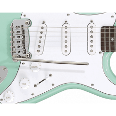 G&L Tribute Legacy Surf Green - Vue 2