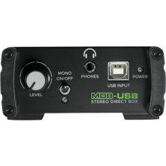 Mackie MDB-USB Boitier de direct actif USB  - Vue 2