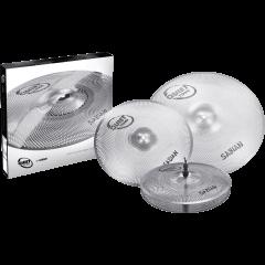 "Sabian Pack de cymbales Quiet Tone 14""-16""-20"" - Vue 2"