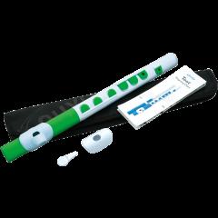 Nuvo Flûte traversière d'éveil ABS blanche et verte - Vue 2