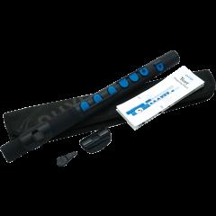 Nuvo Flûte traversière d'éveil ABS noire et bleue - Vue 2