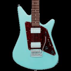Sterling AL40-DBL-R1 Albert Lee signature Daphne Blue - Vue 2