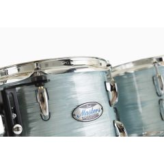"""Pearl Batterie master maple complete rock 22"""" Ice Blue Oyster - Vue 2"""