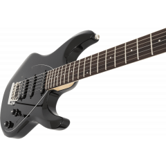 Music Man Silhouette hsh std black - Vue 2