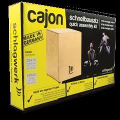 "Schlagwerk CBA1S kit de montage rapide cajon ""médium"" - Vue 2"