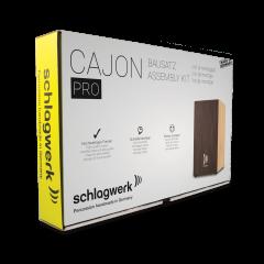 Schlagwerk CBA3SW kit de montage pour cajon PRO wengé - Vue 2